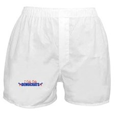 I Only Date Democrats Boxer Shorts