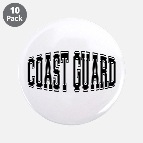"Coast Guard 3.5"" Button (10 pack)"