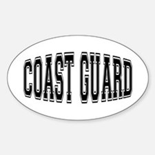 Coast Guard Oval Decal