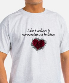 No Commercialized Holidays T-Shirt