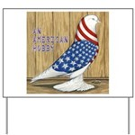 Patriotic Hobby West Yard Sign