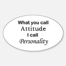 Personality Oval Decal