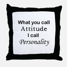 Personality Throw Pillow