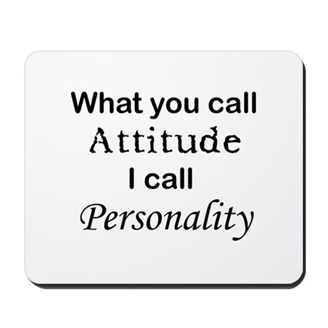 Personality Mousepad