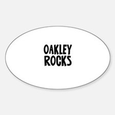Oakley Rocks Oval Decal