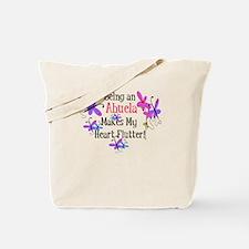 Abuela Heart Flutter Tote Bag