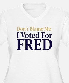 I Voted For FRED T-Shirt