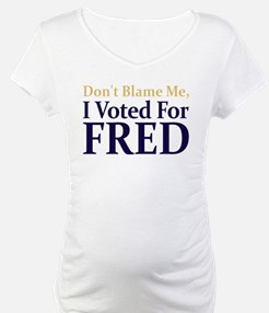 I Voted For FRED Shirt