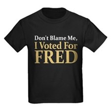 I Voted For FRED T