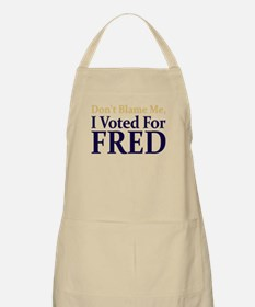 I Voted For FRED BBQ Apron
