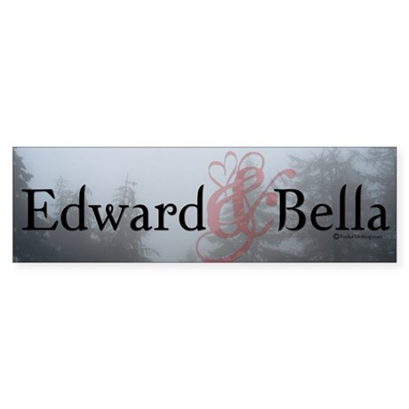 Edward & Bella Bumper Sticker