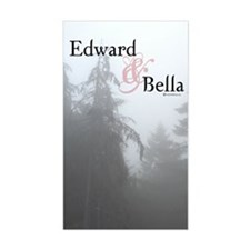 Edward & Bella Rectangle Decal