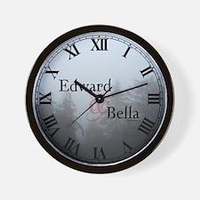 Edward & Bella Wall Clock