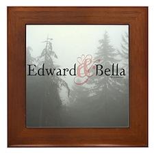Edward & Bella Framed Tile