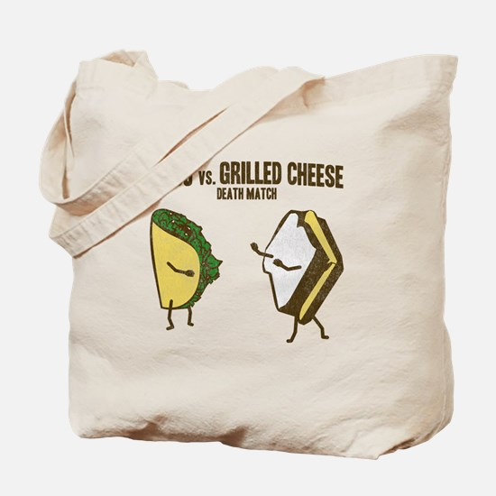 Taco VS Grilled Cheese Tote Bag