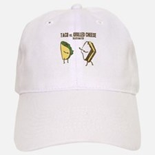 Taco VS Grilled Cheese Baseball Baseball Cap