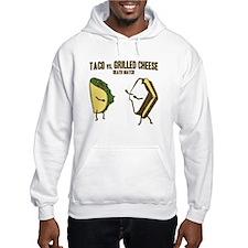 Taco VS Grilled Cheese Hoodie