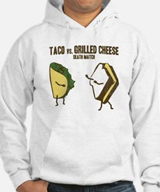 Taco VS Grilled Cheese Hoodie