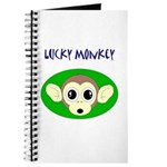 LUCKY MONKEY Journal