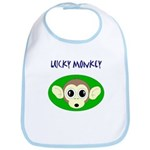 LUCKY MONKEY Bib