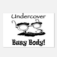 Undercover Busy Body Postcards (Package of 8)