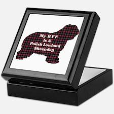 Polish Lowland Sheepdog Gifts Keepsake Box