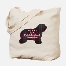 Polish Lowland Sheepdog Gifts Tote Bag