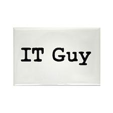 IT Guy Rectangle Magnet