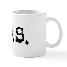 Nitrous Oxide / N.O.S. Small Mug