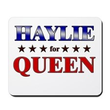 HAYLIE for queen Mousepad