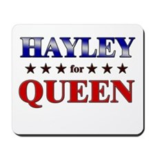 HAYLEY for queen Mousepad