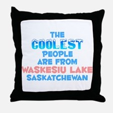 Coolest: Waskesiu Lake, SK Throw Pillow