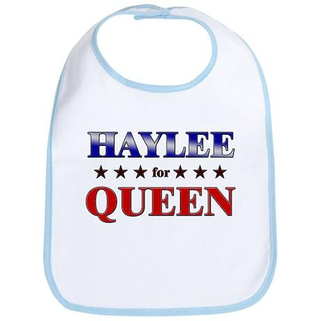 HAYLEE for queen Bib