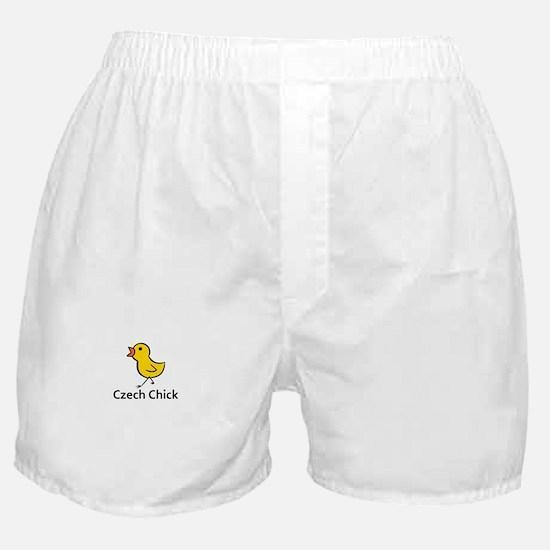 Czech Chick Boxer Shorts