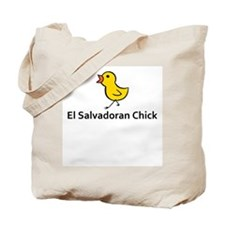 El Salvaodoran Chick Tote Bag