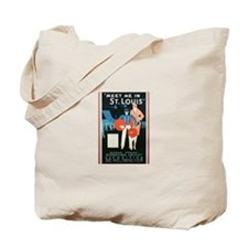 Vintage St Louis Tote Bag