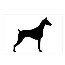 Doberman Pinscher Postcards (Package of 8)