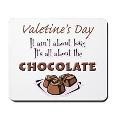 All About the Chocolate Mousepad
