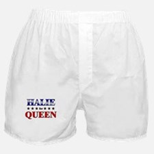 HALIE for queen Boxer Shorts