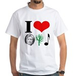 anti Hillary 2008 White T-Shirt