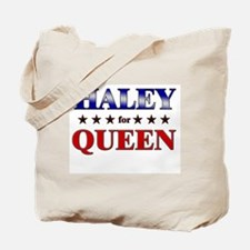 HALEY for queen Tote Bag