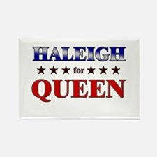 HALEIGH for queen Rectangle Magnet