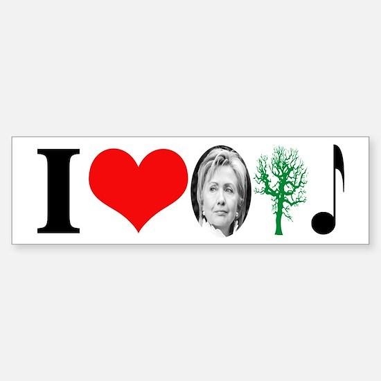 anti Hillary 2008 Bumper Bumper Bumper Sticker