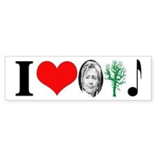 anti Hillary 2008 Bumper Bumper Sticker