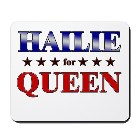 HAILIE for queen Mousepad