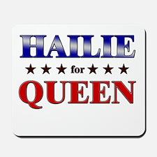 HAILIE for queen Mousepad