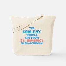 Coolest: St. Benedict, SK Tote Bag