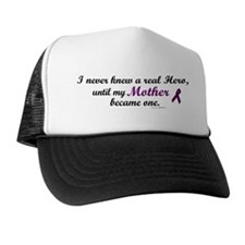 Never Knew A Hero MOTHER (Purple) Trucker Hat