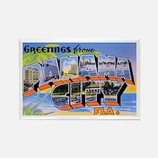 Panama City Florida Greetings Rectangle Magnet