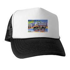 Panama City Florida Greetings Trucker Hat